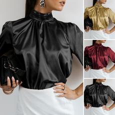 shirtsforwomen, Plus Size, elegantblouse, Office
