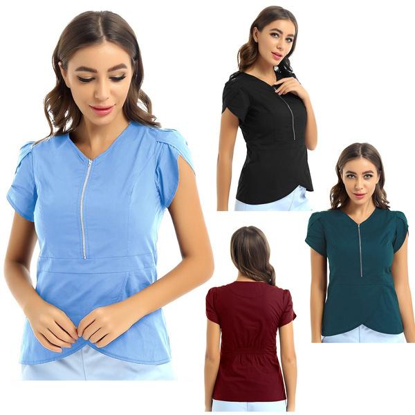 blouse, scrubuniform, scrubtop, medicalscrub