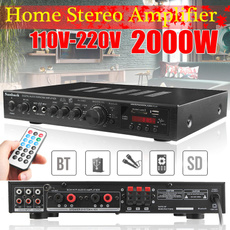 Dj, 5channelamplifier, Remote, amplifierwithradio