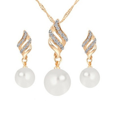 Jewelry, Earring, Jewelery, pearl necklace