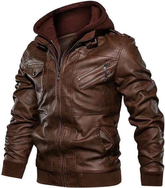 brown, Fashion, leather, Men