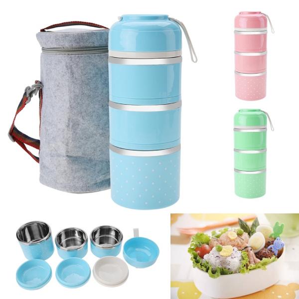 Steel, thermallunchbox, foodstoragecontainer, Home Decor