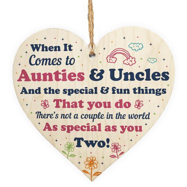 Wooden, Christmas, unclegift, Heart
