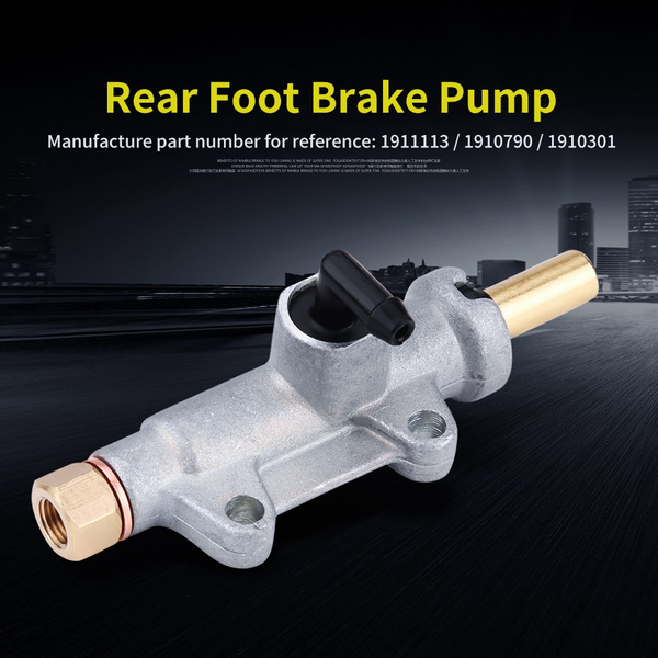 rearfootbrakecylinderpump, polari, hydraulicmastercylinder, hydraulicbrakepump