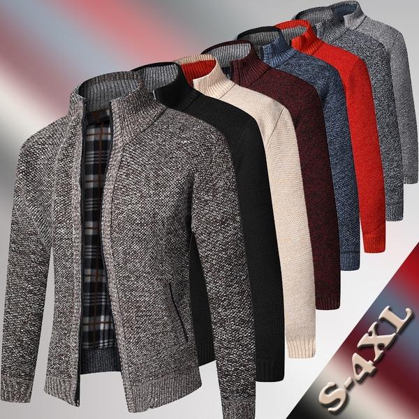 Stand Collar, Fashion, Cotton, Winter