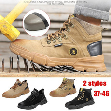 Steel, ankle boots, hikingboot, Cap