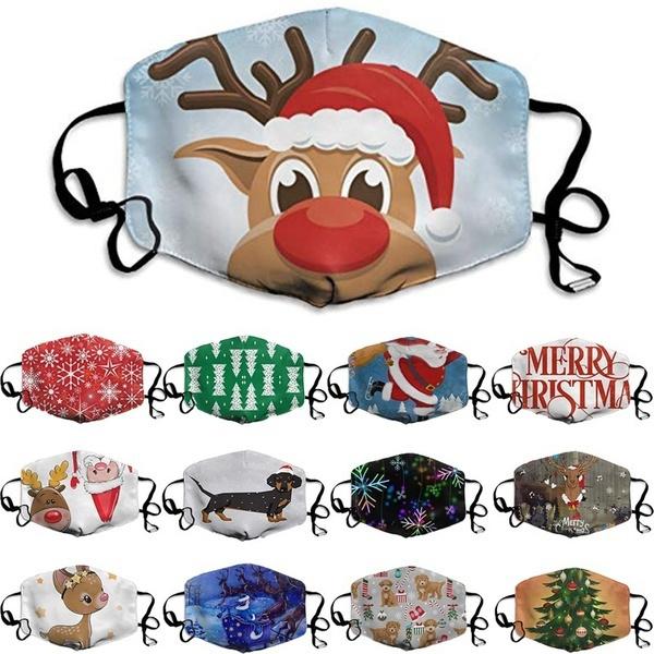 washable, Christmas, unisex, Masks