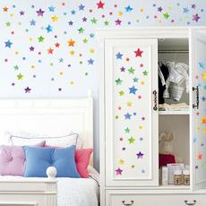rainbow, Bathroom, Star, Home Decor