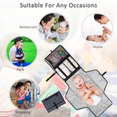 diaperchanging, babypad, Waterproof, babymat