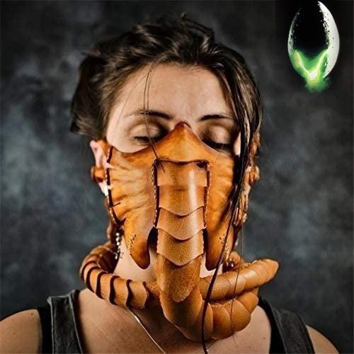 alienmask, scary, Cosplay, Halloween Costume