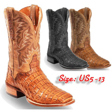 Exotic, Handmade, Fashion, Leather Boots