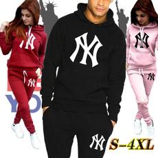 Two-Piece Suits, pants, hoodiesuit, Print