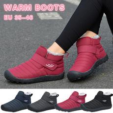 ankle boots, Plus Size, Cotton, Winter