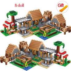 Toy, Gifts, Farm, house
