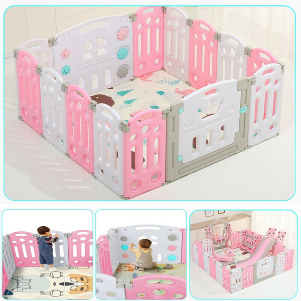 playpen, safetyplayard, fence, Home & Living