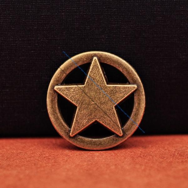 Antique, Fashion, Star, starconchoscrewback