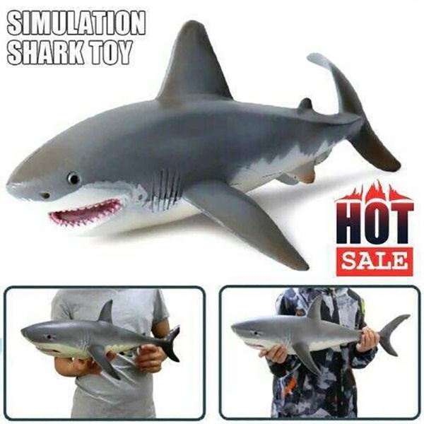 Funny, Shark, Toy, Christmas