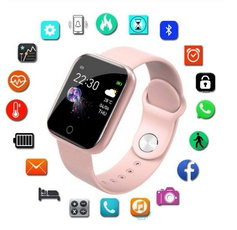 Fitness, Silicone, wristwatch, Waterproof