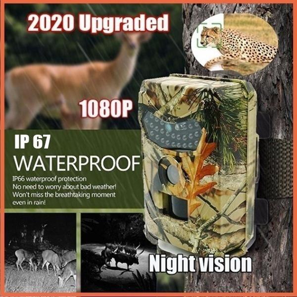 trailcamera, Outdoor, 1080pwaterproofcamera, gadgetsformen