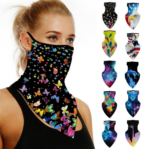 Triangles, scarfneck, Cycling, motorcyclemask