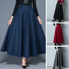 Skirts, Winter, Waist, Gel