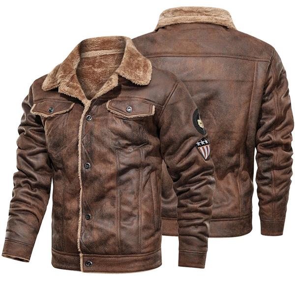 Fashion, Outerwear, PU, leather