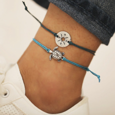 Turtle, decoration, Rope, ankletchain
