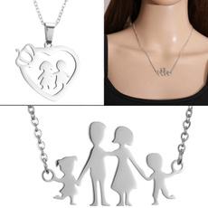 Steel, Heart, babyandmom, Christmas