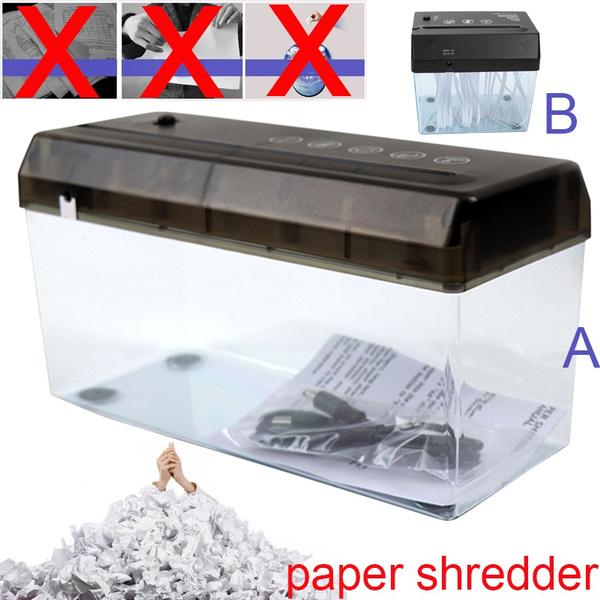 documentcutter, Mini, papershredder, usb