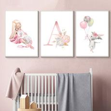 cartoonposter, art, Home Decor, kidsroomdecorforgirl