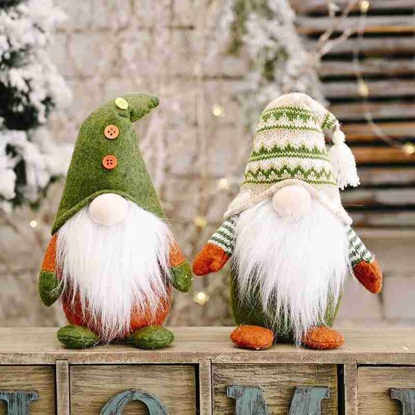 santafacelessdoll, Plush Doll, Christmas, doll