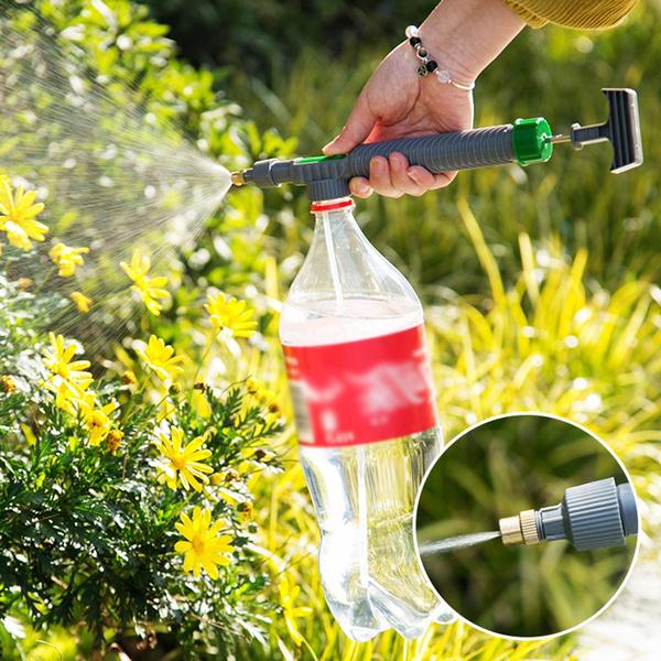 Head, flowershape, sprinkler, Pump