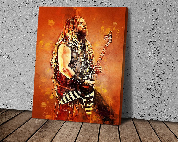 art print, zakkwylde, Wall Art, Home Decor