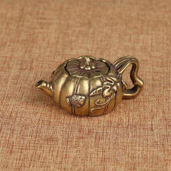 Copper, Mini, gold, teapetdecoration
