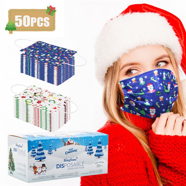 christmasaccessorie, nonwovenmask, antidustfacemask, Christmas