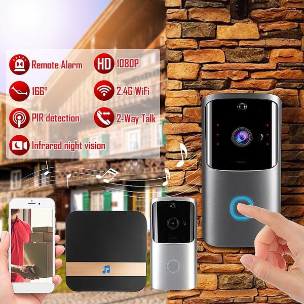 doorbell, Remote, doorbellcamera, visualdoorbell