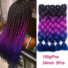 autolisted, Synthetic, Extension, braiding