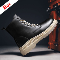 ankle boots, platformboot, Leather Boots, leather