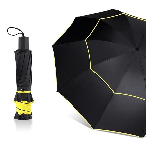 女性の傘, 防風, 折りたたみ傘, ゴルフ傘