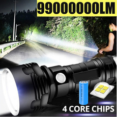 Flashlight, Batteries, Hiking, led