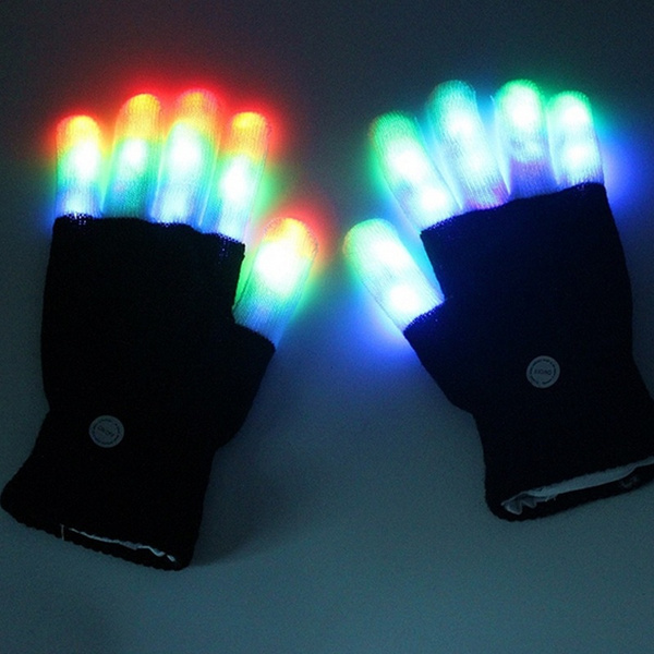 light up, led, glowglove, lights
