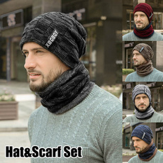 hatscarfset, Beanie, Fashion, knit