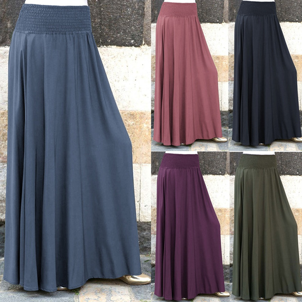 long skirt, Plus Size, Winter, high waist skirt