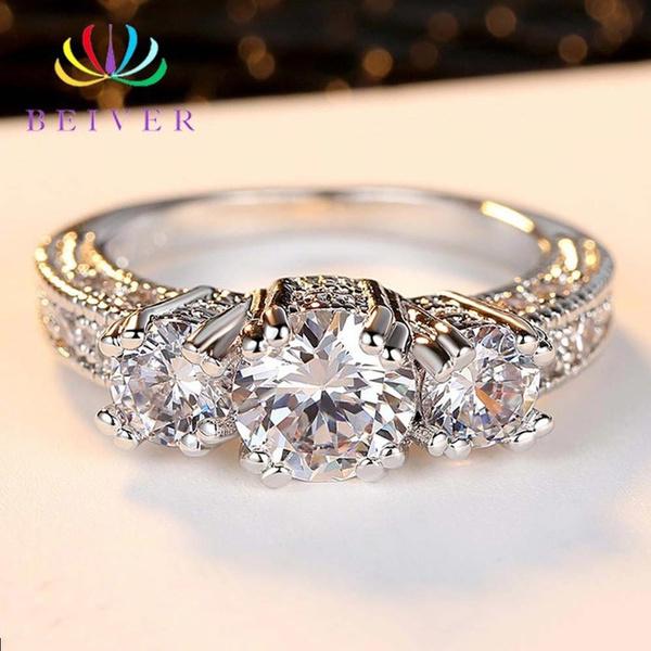 Sterling, DIAMOND, Jewelry, Classics