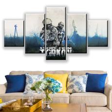 canvasprint, Wall Art, 5assembleddecorativepainting, Posters