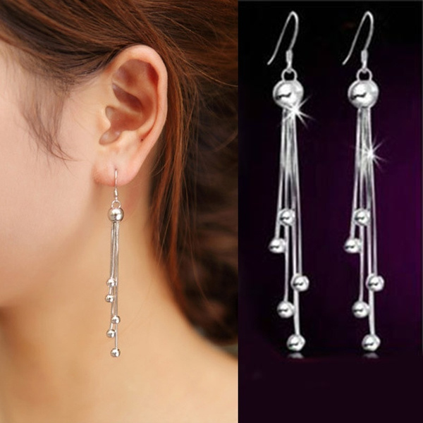 Fashion, Jewelry, Earring, silver plated