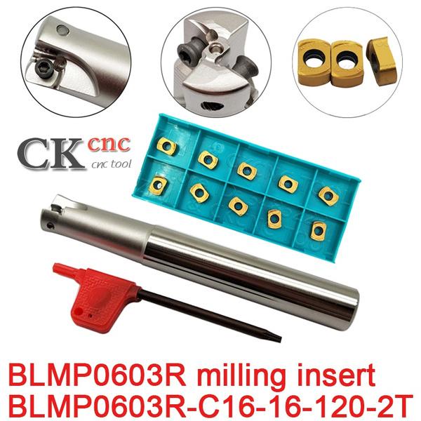 millinginsert, blmp0603rmtt9080, carbideblade, millingcuttertoolholder
