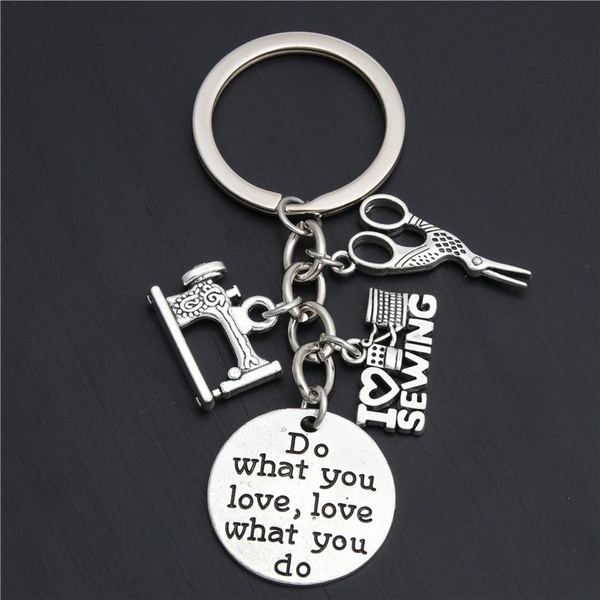 tailorsewingtool, Key Chain, Jewelry, Gifts
