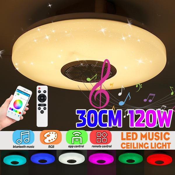 speakersceilinglight, lightfixture, led, deckenleuchte