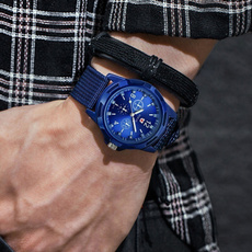 swisswatche, Blues, Fashion, casual sports watch
